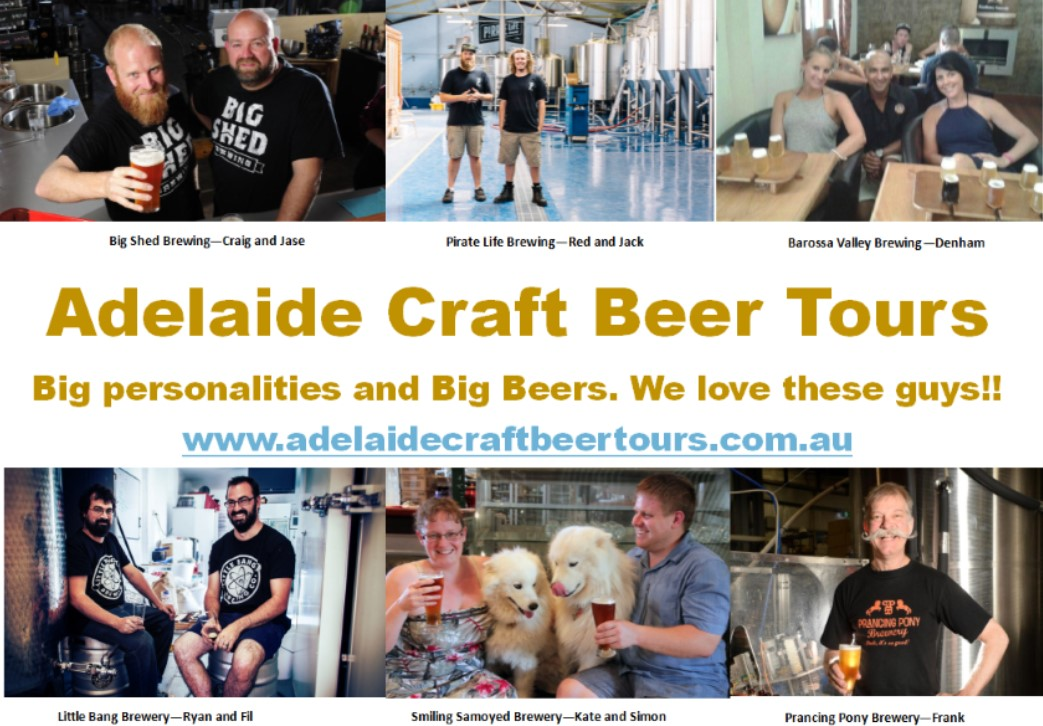 Adelaide Craft Beer tours